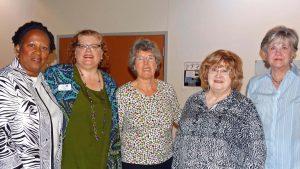 TCB Members With Lisa Maatz